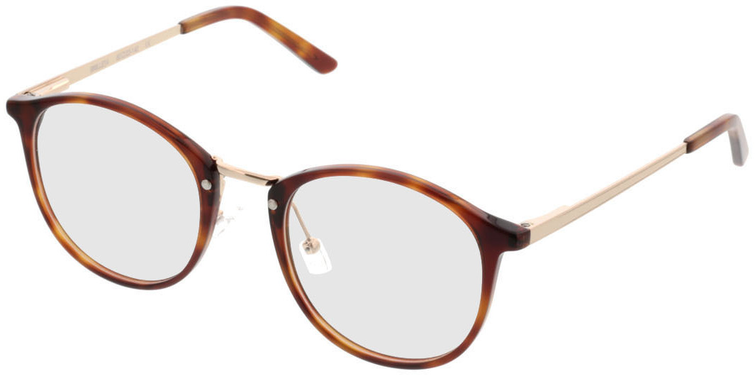 Picture of glasses model Bedford-braun-meliert/gold in angle 330