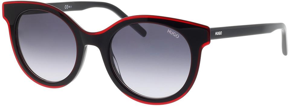 Picture of glasses model Hugo HG 1050/S OIT 50-21 in angle 330
