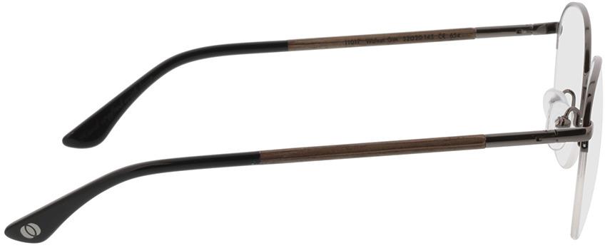 Picture of glasses model Wood Fellas Optical Cloudburst walnut/gun shiny 52-20 in angle 90
