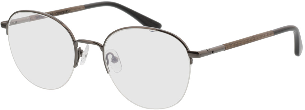 Picture of glasses model Wood Fellas Optical Cloudburst walnut/gun shiny 52-20 in angle 330