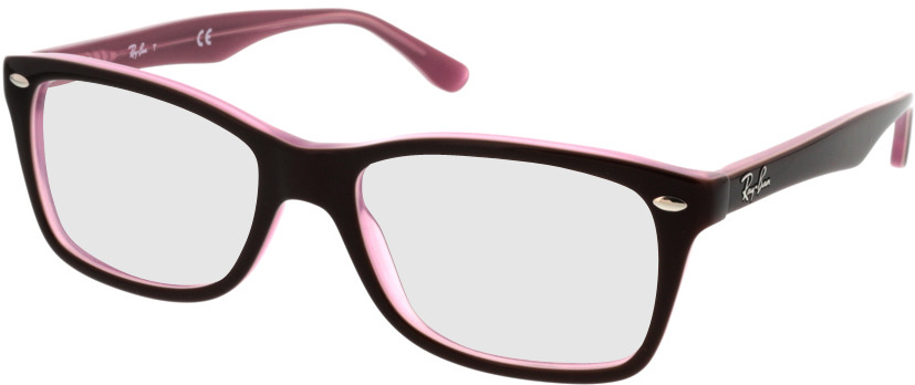 Picture of glasses model Ray-Ban RX5228 2126 53-17 in angle 330