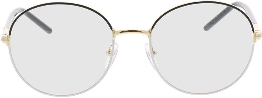 Picture of glasses model Prada PR 55WV 07I1O1 53-19 in angle 0