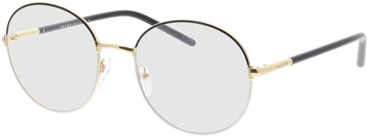 Picture of glasses model Prada PR 55WV 07I1O1 53-19 in angle 330