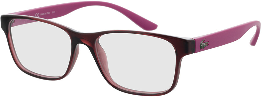 Picture of glasses model Lacoste L3804B 615 51-16 in angle 330