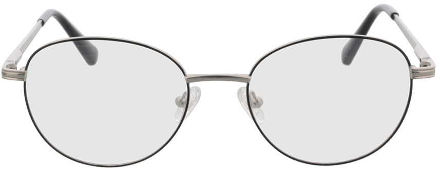 Picture of glasses model Rubio-silber/schwarz in angle 0