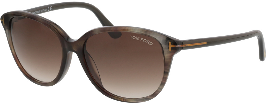 Picture of glasses model Tom Ford FT0329 50P 57-16 in angle 330
