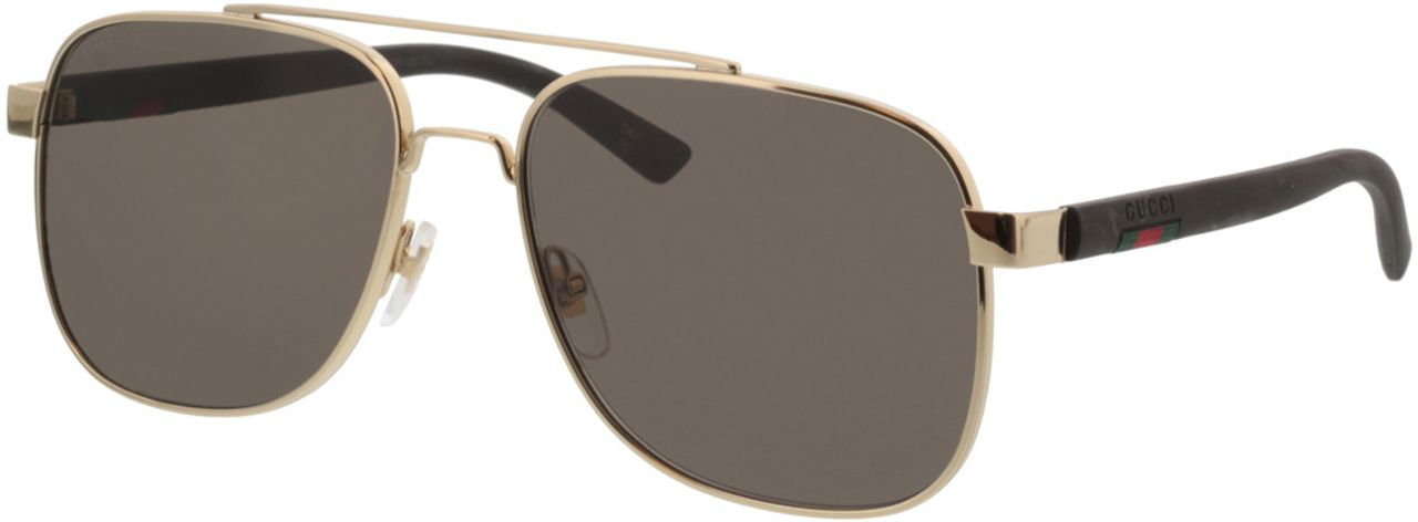 Picture of glasses model Gucci GG0422S-003 60-17  in angle 330