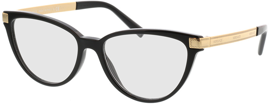 Picture of glasses model Versace VE3271 GB1 54-16 in angle 330