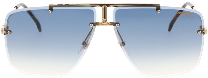 Picture of glasses model Carrera CARRERA 1016/S 001 64-11 in angle 0