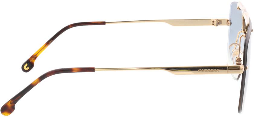 Picture of glasses model Carrera CARRERA 1016/S 001 64-11 in angle 90