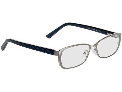 Brille Geras-silber/anthrazit