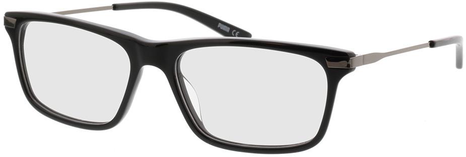 Picture of glasses model Puma PU0205O-001 55-17 in angle 330