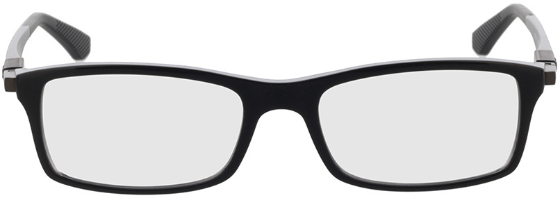 Picture of glasses model Ray-Ban RX7017 2000 52-17 in angle 0