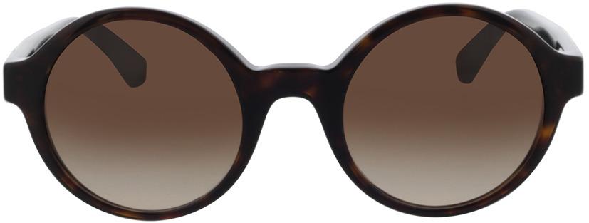 Picture of glasses model Emporio Armani EA4153 523413 51-23 in angle 0