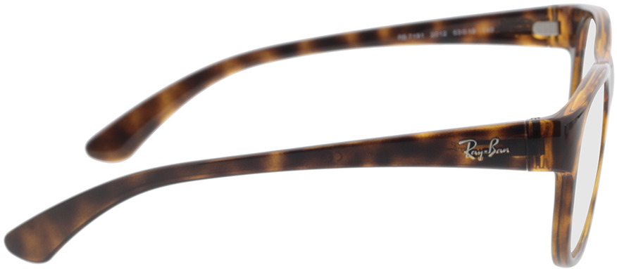Picture of glasses model Ray-Ban RX7191 2012 53-19 in angle 90
