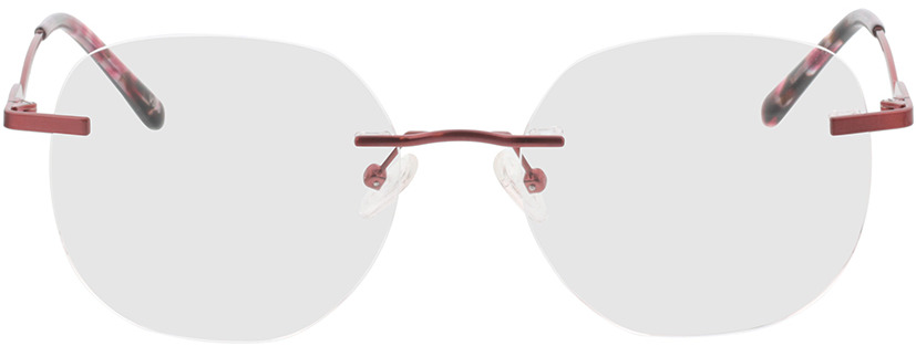 Picture of glasses model Gardena-rot in angle 0