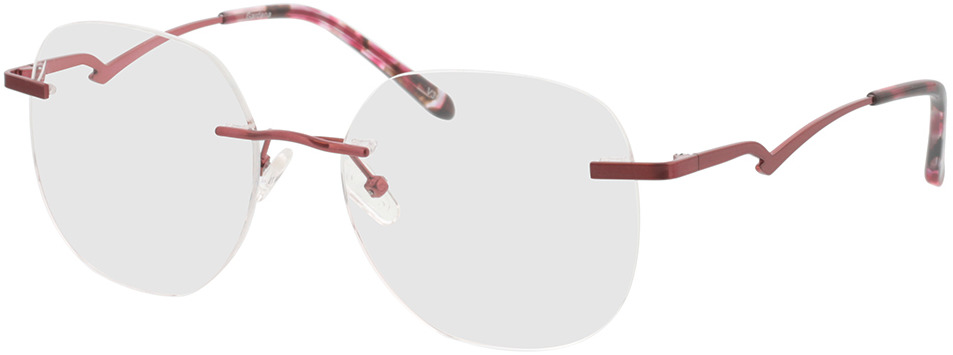 Picture of glasses model Gardena-rot in angle 330