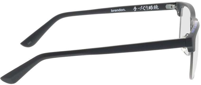 Picture of glasses model Superdry SDO Brendon 119 grey 56-18 in angle 90