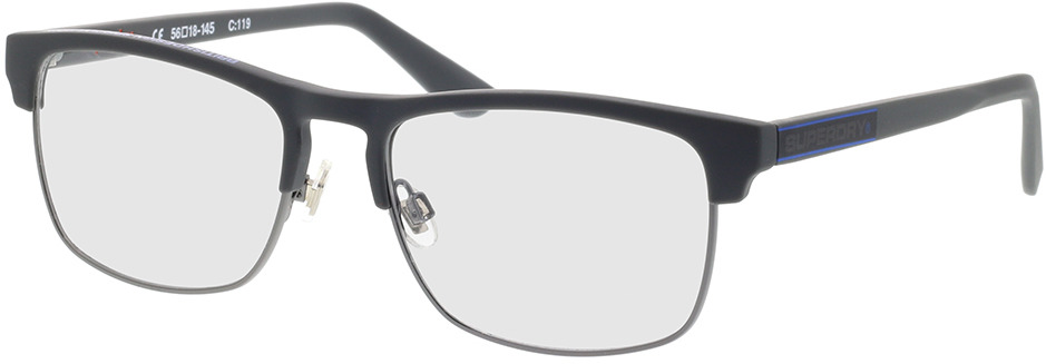Picture of glasses model Superdry SDO Brendon 119 grey 56-18 in angle 330