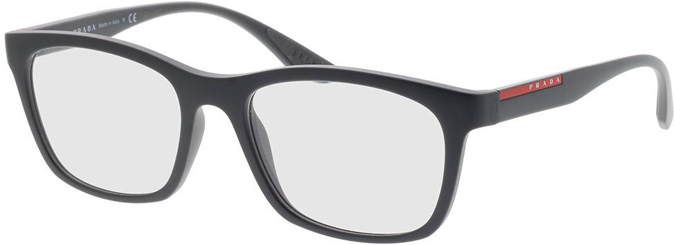Picture of glasses model Prada Linea Rossa PS 02NV OAS1O1 53-18 in angle 330