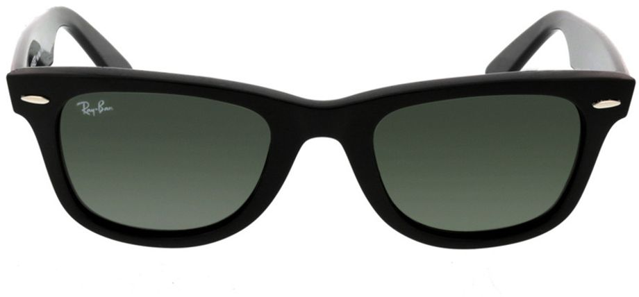 Picture of glasses model Ray-Ban Wayfarer RB2140 901 50-22 in angle 0