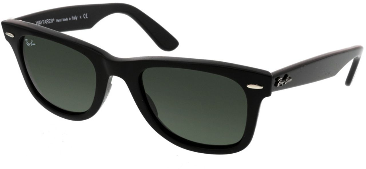 Picture of glasses model Ray-Ban Wayfarer RB2140 901 50-22 in angle 330