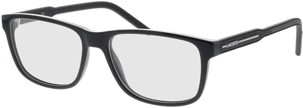 Picture of glasses model Lacoste L2866 001 56-16 in angle 330