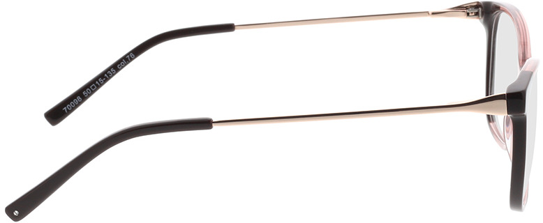 Picture of glasses model Comma, 70098 76 50-15 in angle 90