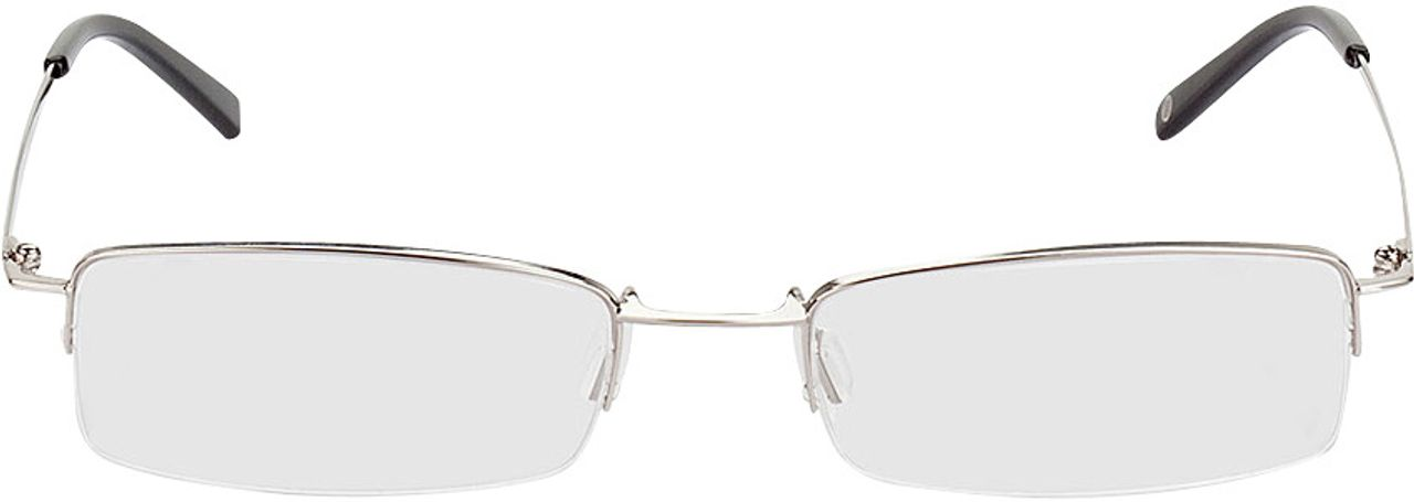 Picture of glasses model Exeter silver in angle 0