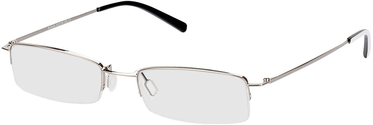 Picture of glasses model Exeter silver in angle 330