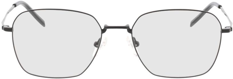 Picture of glasses model Kansas mate /preto in angle 0