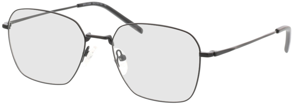 Picture of glasses model Kansas mate /preto in angle 330