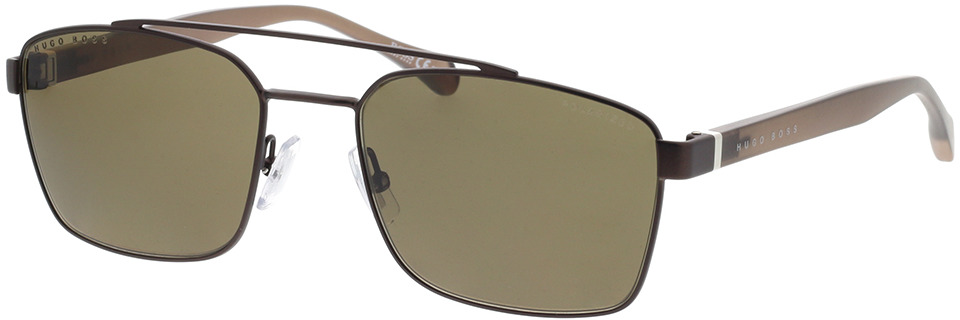 Picture of glasses model Boss BOSS 1117/S YZ4 57-19 in angle 330