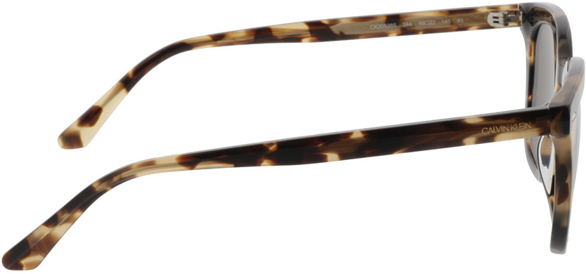 Picture of glasses model Calvin Klein CK20538S 244 49-22 in angle 90