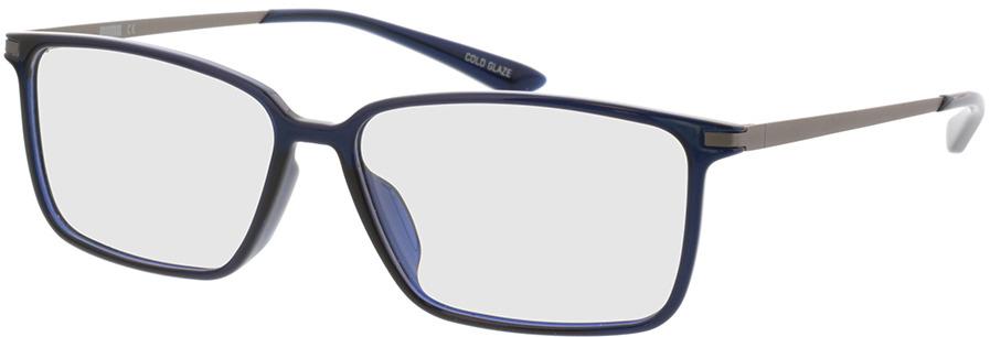 Picture of glasses model Puma PU0114O-007 57-14 in angle 330