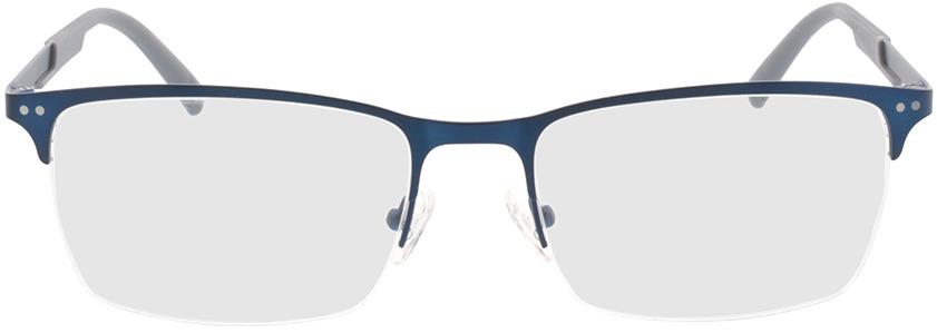 Picture of glasses model Justo-matt blau in angle 0