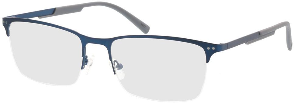 Picture of glasses model Justo-matt blau in angle 330