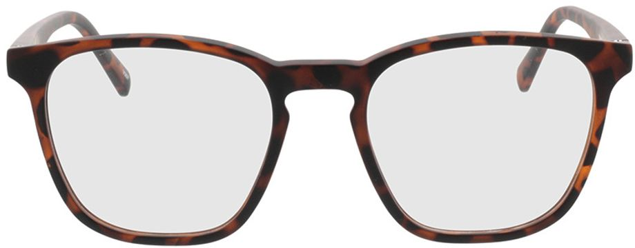 Picture of glasses model Willow-braun-meliert in angle 0