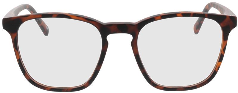 Picture of glasses model Willow bruin-gevlekt in angle 0