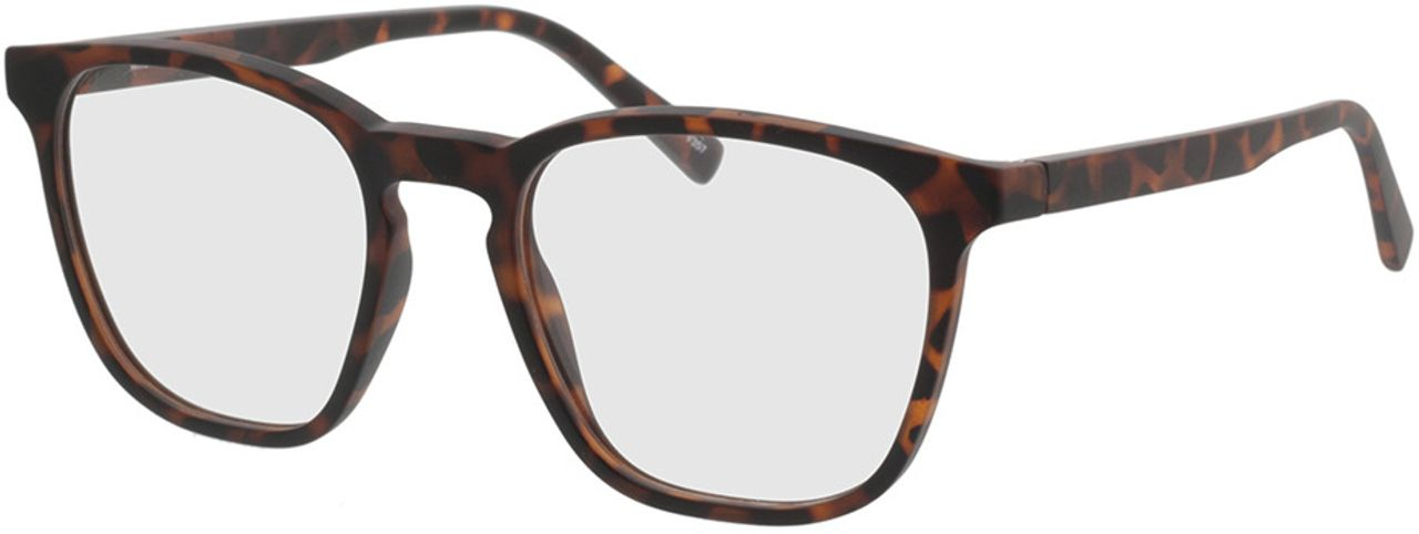Picture of glasses model Willow-braun-meliert in angle 330