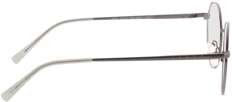 Picture of glasses model Alba-matt anthrazit/grau in angle 90