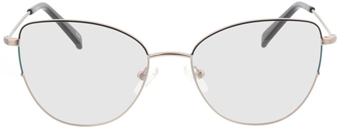 Picture of glasses model Luanda-matt silber in angle 0