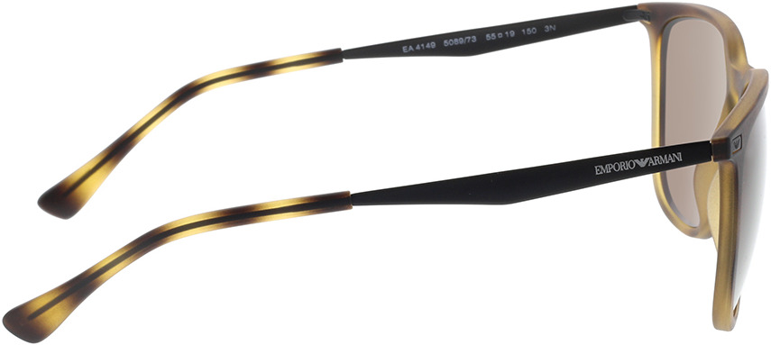 Picture of glasses model Emporio Armani EA4149 508973 55-19 in angle 90