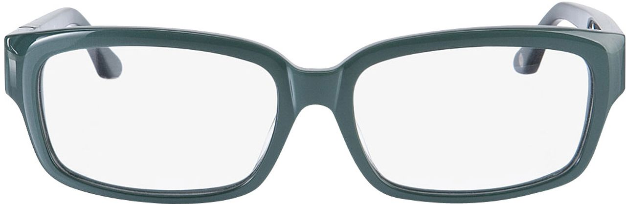 Picture of glasses model Brooklyn green in angle 0