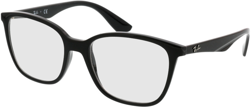 Picture of glasses model Ray-Ban RX7066 2000 52-17 in angle 330