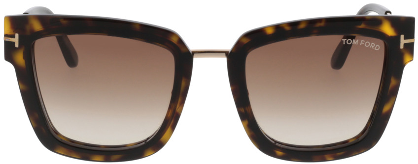 Picture of glasses model Tom Ford Lara FT0573 52F  in angle 0