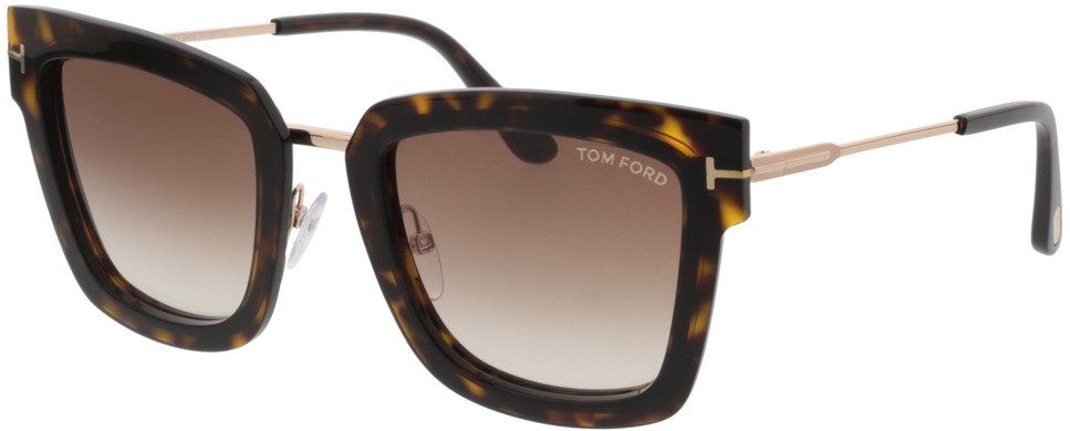 Picture of glasses model Tom Ford Lara FT0573 52F  in angle 330