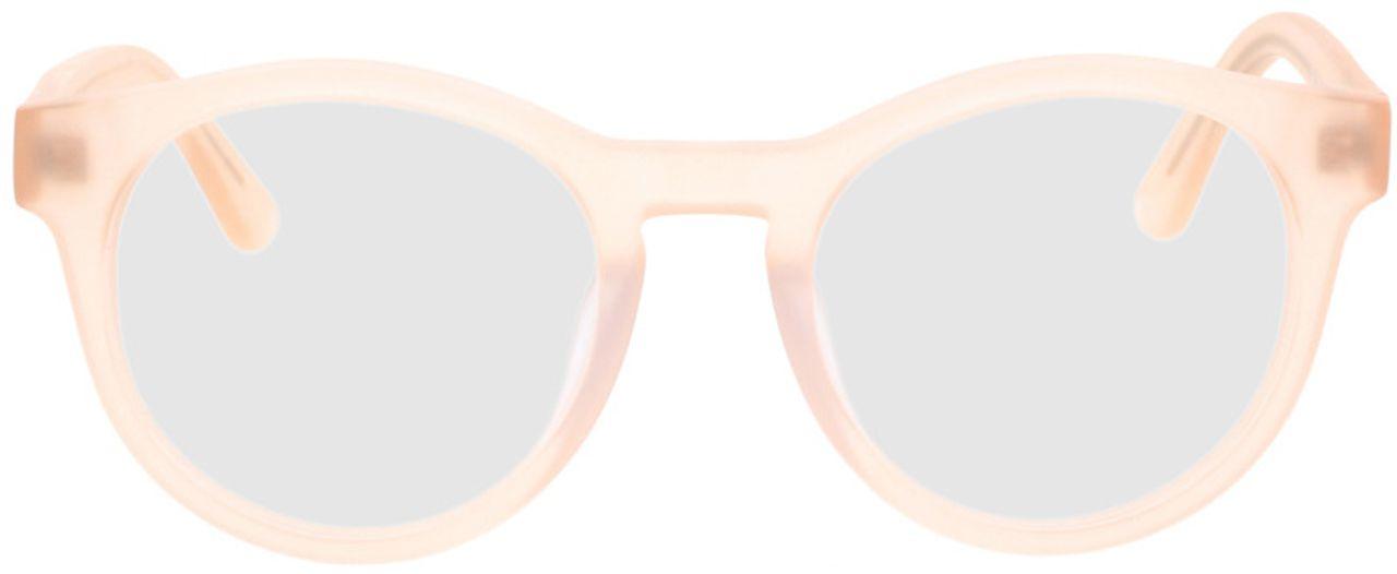 Picture of glasses model Caiguna-orange in angle 0
