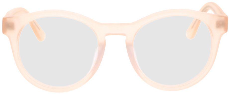 Picture of glasses model Caiguna-matt-apricot in angle 0