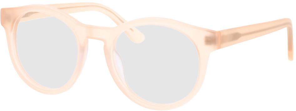 Picture of glasses model Caiguna-matt-apricot in angle 330